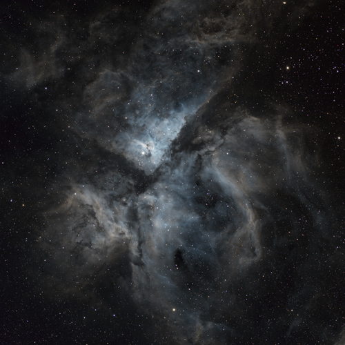 NGC 3372 Carina Nebula in Synthetic Color