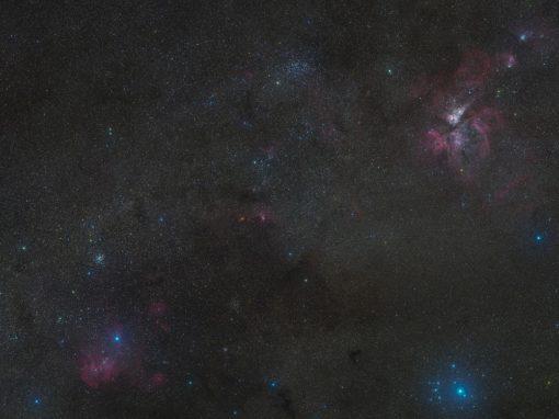 A tour around the Carina Nebula